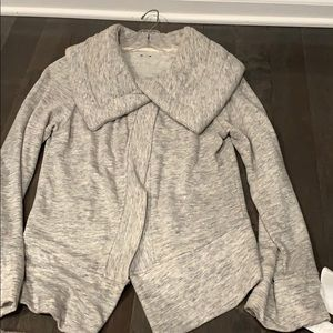Three Dots brand sweater with folded collar